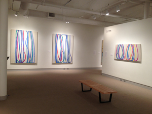 THREE CORDS, JOANNE FREEMAN, UMAINE MUSEUM OF ART, SUMMER 2013
